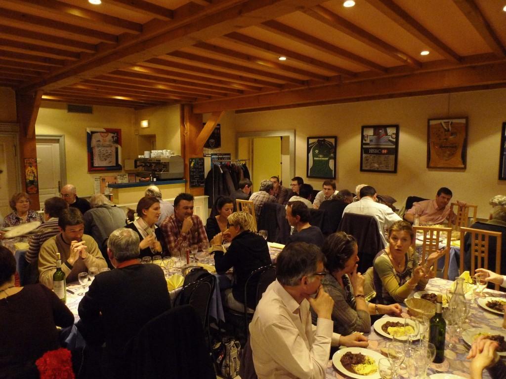 Repas dégustation au Restaurant St Jacques à Echirolles - 10 janvier 2011
