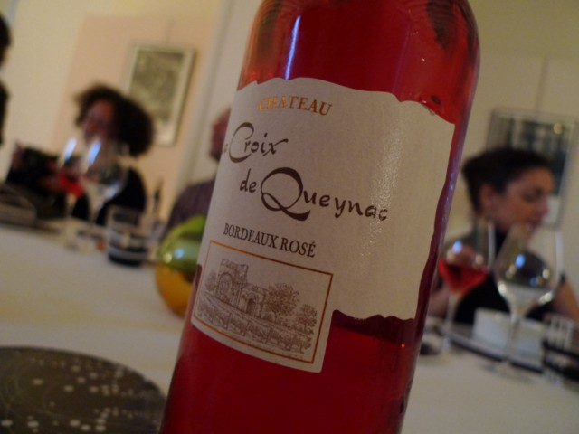 Château La Croix de Queyrac Bordeaux Rosé des Vignobles Gabard